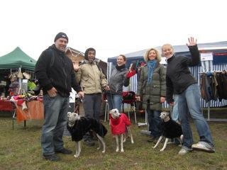 Ein Weihnachtsmarkt für Windhunde