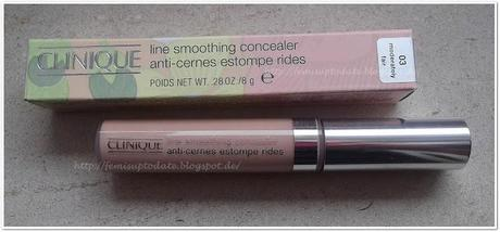 Clinique- Line Smoothing Concealer