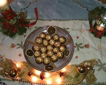 Warten auf den Weihnachtsmann mit Ferrero