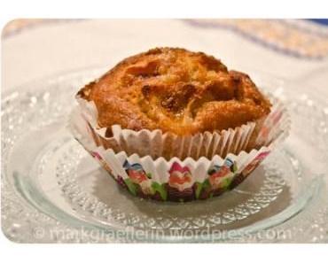 Apfel-Zimt-Muffins / Apple-Cinnamon Muffins
