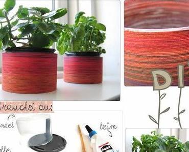 DIY - Fröhliche Blumentöpfe