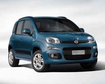 Fiat Panda jetzt mit Erdgas