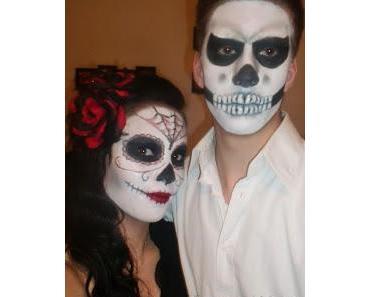 [Halloween] Sugar Skull + Skull