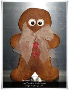 Gingerbread man …….