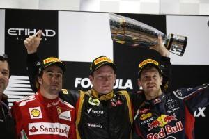 Formel 1: GP von Abu Dhabi 2012 – Der Iceman ist zurück!