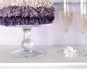 New Romance Ombre Cake