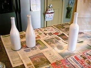 weihnachtsdeko aus flaschen & salz. - Diy Weihnachtsdeko