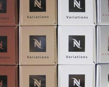 Nespresso Variations 2012 & Hawaii Kona Special Reserve