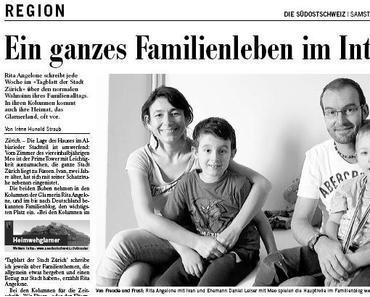 In eigener Sache: Die Angelones in der Südostschweiz