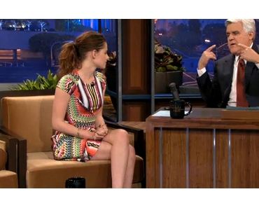 Shocking News: Kristen Stewart Dressed Up Stylish for Tonight Show with Jay Leno