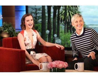Emma Watson at ´The Ellen DeGeneres Show` in Prabal Gurung