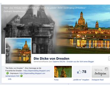 Die Dicke von Dresden - eine Hommage an die Dresdner Frauenkirche