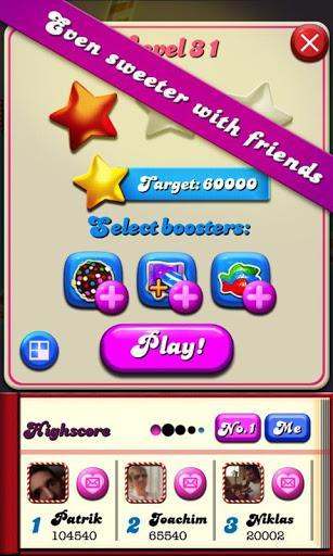Candy Crush Neues Handy Booster Weg