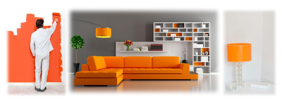 welche wandfarbe und gardinen passen zu einem knall orangenes sofa kaufen farbe zimmer. Black Bedroom Furniture Sets. Home Design Ideas