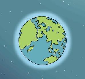 Wie kommt die Luft auf die Erde?