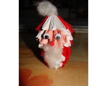 3D Origami - Weihnachtswichtel