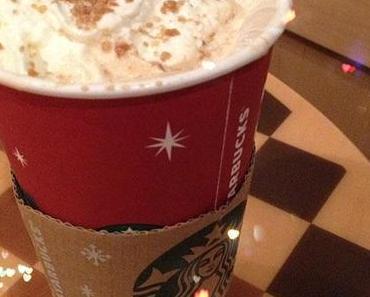 Starbucks Holiday Season – Toffee Nut Latte & Starbucks Card
