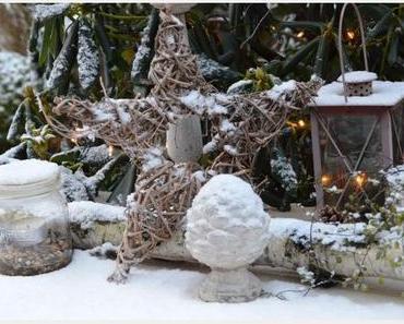Winter Outdoor Deko- winterliche Draußen Deko