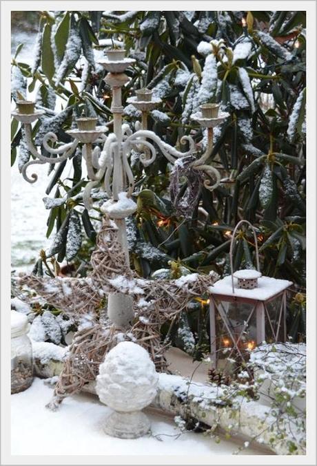 Winter outdoor deko winterliche drau en deko for Outdoor deko