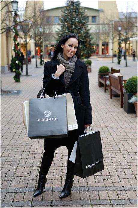 Perfect shopping day - Michael Kors, Hugo Boss, Versace, Lagerfeld