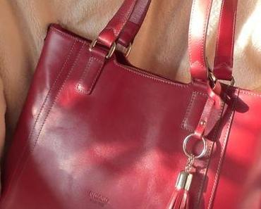 Taschenfieber, jetzt habe ich doch noch eine rote Tasche…von Picard;-)