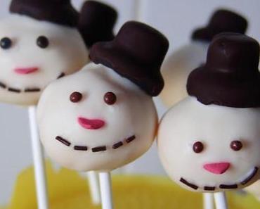Snowman- Cake Pops
