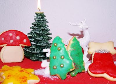 2. Advent - bunte Butterplätzchen -