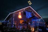 LED-Lichterketten: Strom sparender Weihnachtsschmuck für Haus und Garten