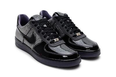 Nike Air Force 1 Schwarz Lack