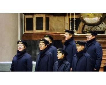 Weihnachtskonzert der Wiener Sängerknaben in der Basilika