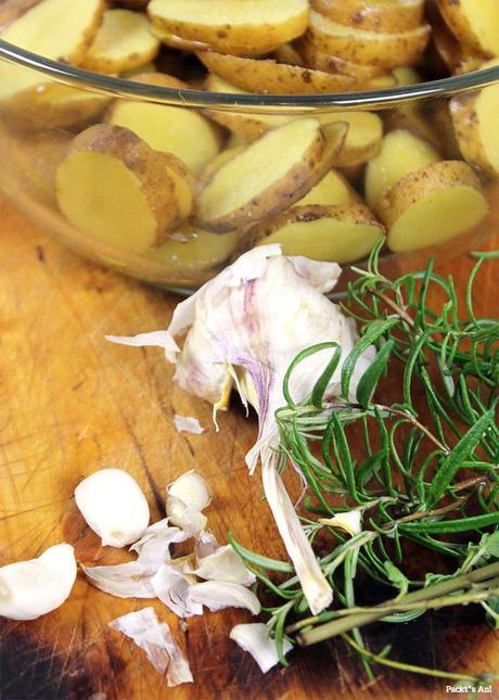 lammkoteletts mit fenchel bohnen salat und rosmarinkartoffeln. Black Bedroom Furniture Sets. Home Design Ideas