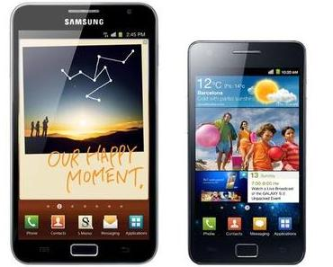 Samsung Galaxy S2 und Galaxy Note: Android 4.1.2 Jelly Bean soll im Januar/Februar kommen