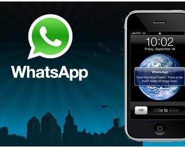 WhatsApp schliesst iPhone 3G aus