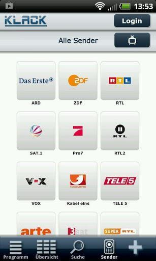 KLACK TV Programm – Schnelle TV-Programm-App mit zahlreichen Funktionen