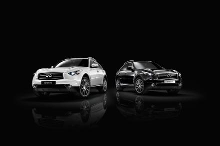 Infiniti FX_Black_and_White_PPT