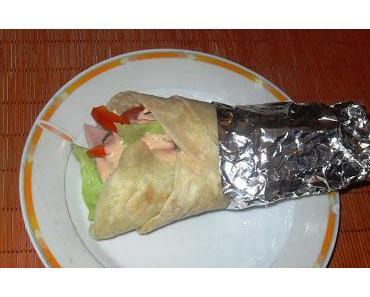(Weizen-) Tortilla / Wraps Grundrezept Teig