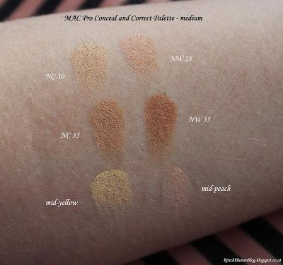 MAC Apres Chic + Conceal&Correct; Palette (Haul inkl. Swatches)