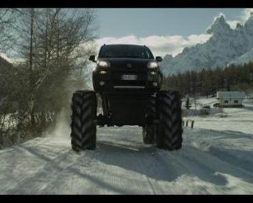 Fiat Panda 4×4 als Monstertruck