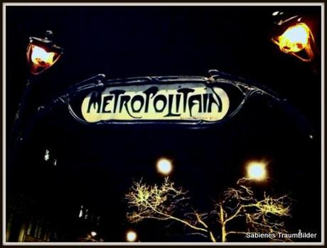 Metroschild in Paris