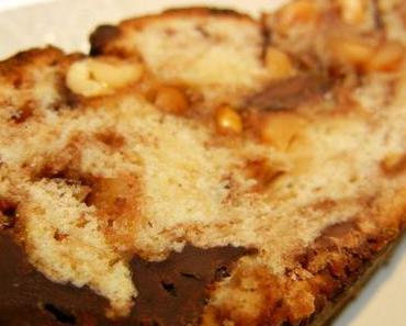Erdnuss-Schokoladen-Stollen