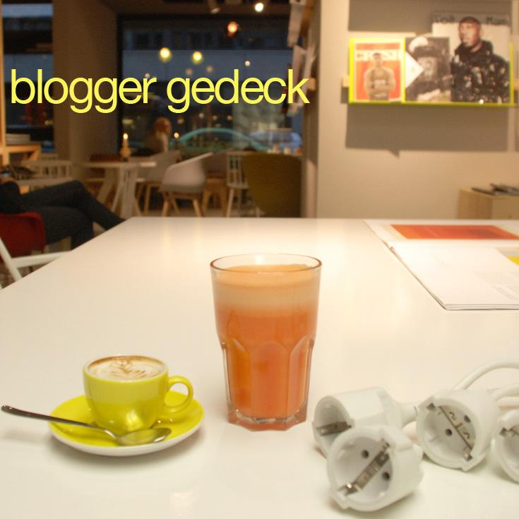 westberlin coffeebar&mediashop; | Blogger Gedeck zur Berlin Fashion Week