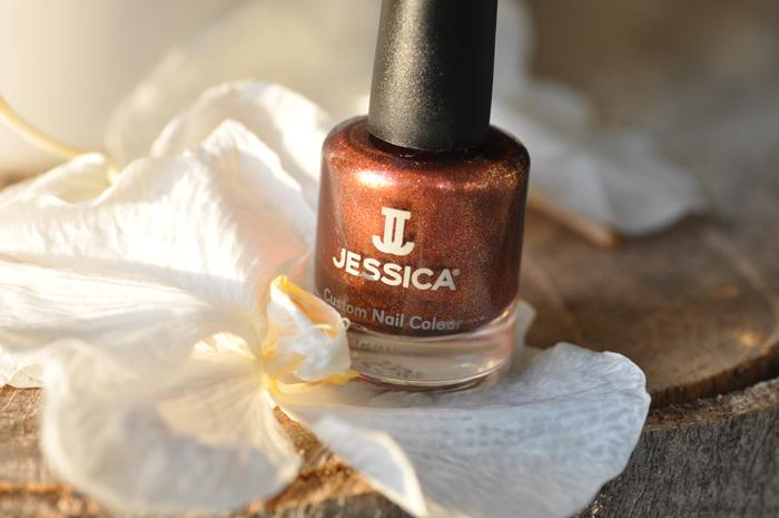 Sunrise Nails mit Pumpkin Delight von Jessica