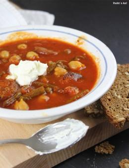Bohnensuppe