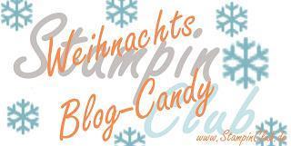 Weihnachtskarten für das Candy