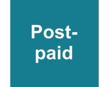 Postpaid-Tarif – Bezahlung nach Anwendung von Smartphone, Handy, Tablet-PC