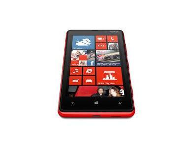 Das Nokia Lumia 820 Smartphone