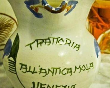 Bella Italia – Venezia – Trattoria all'Antica Mola, das perfekte italienische Menu