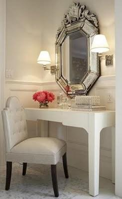 schminktisch inspiration. Black Bedroom Furniture Sets. Home Design Ideas
