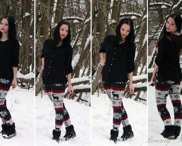 OotD - 20.01.2013 Winter auf der Leggings