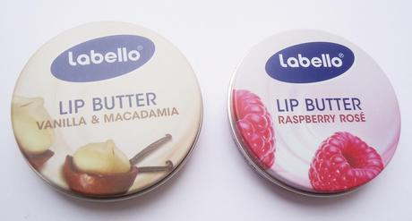 NEU: Labello Lip Butter Vanilla & Macadamia und Raspberry Rose